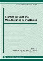 Frontier in Functional Manufacturing Technologies