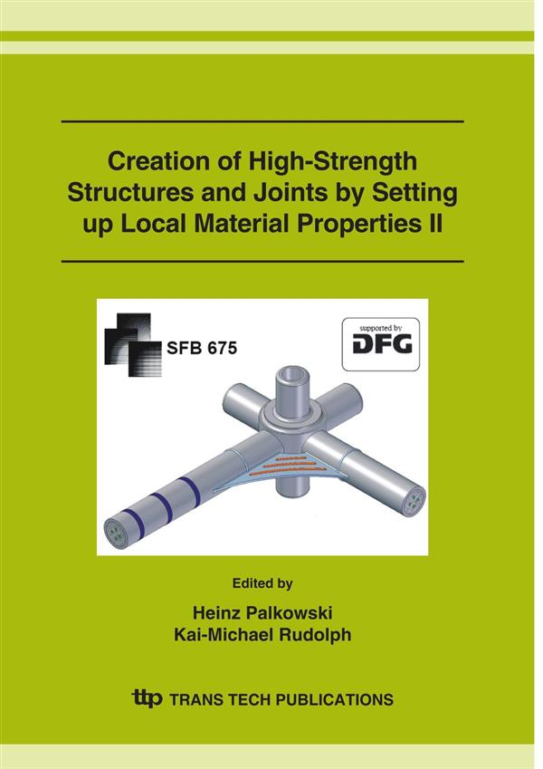 Creation of High-Strength Structures and Joints