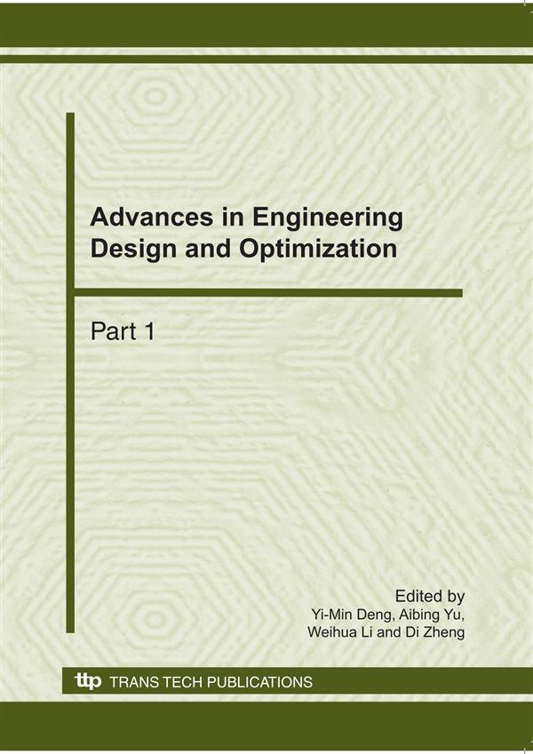 advances  engineering design  optimization