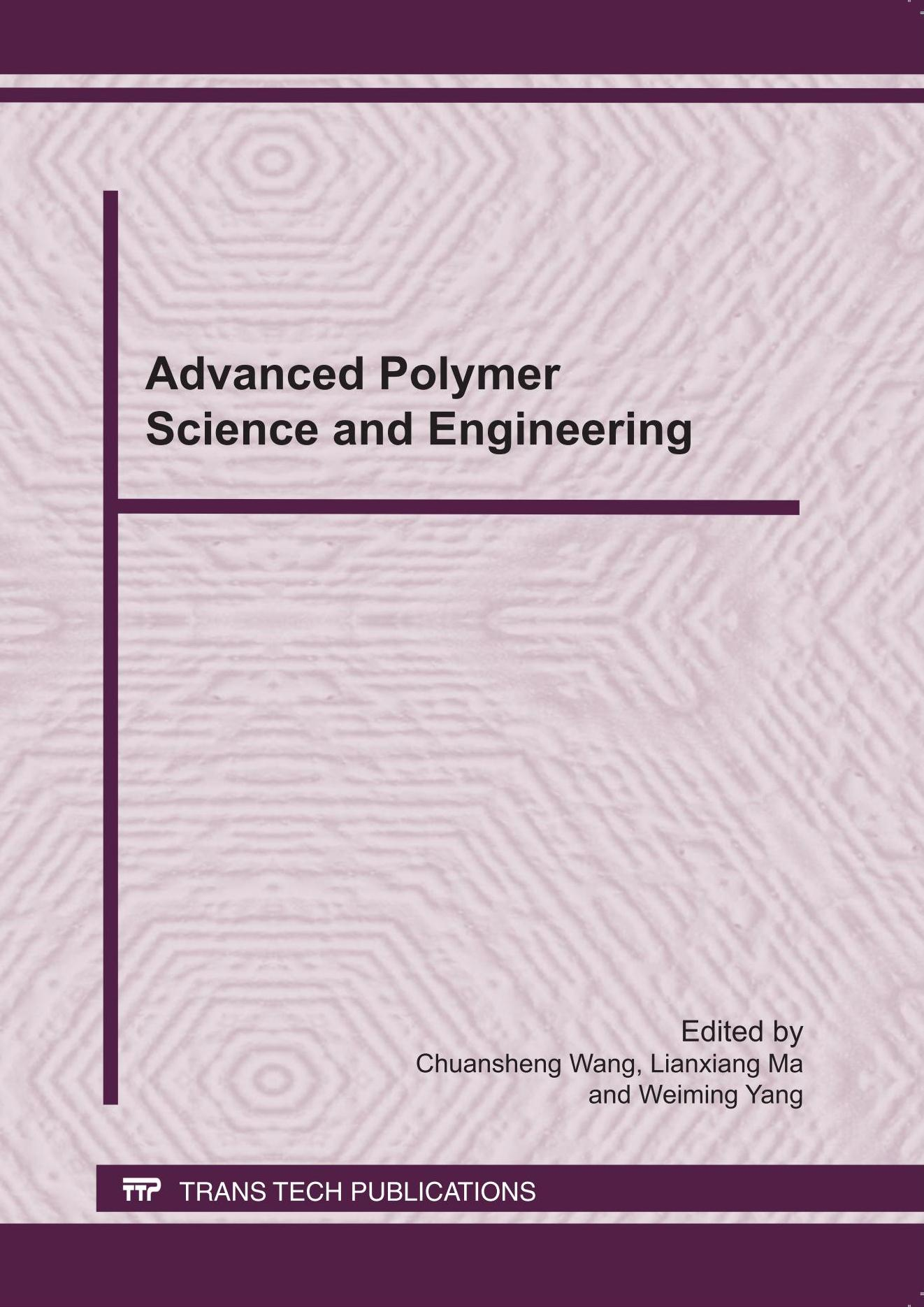 Advanced Polymer Science and Engineering
