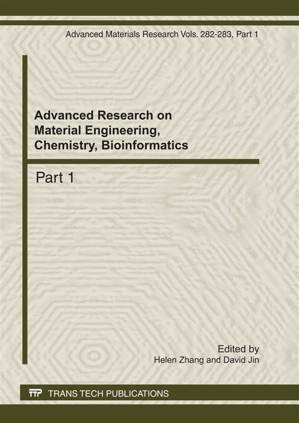 Advanced Research on Material Engineering, Chemistry, Bioinformatics