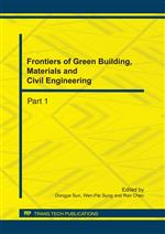 Frontiers of Green Building, Materials and Civil Engineering