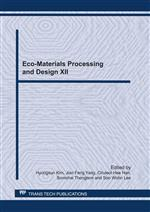 Eco-Materials Processing and Design XII