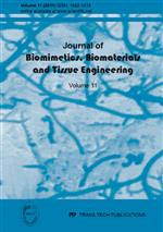 Journal of Biomimetics, Biomaterials & Tissue Engineering Vol.11