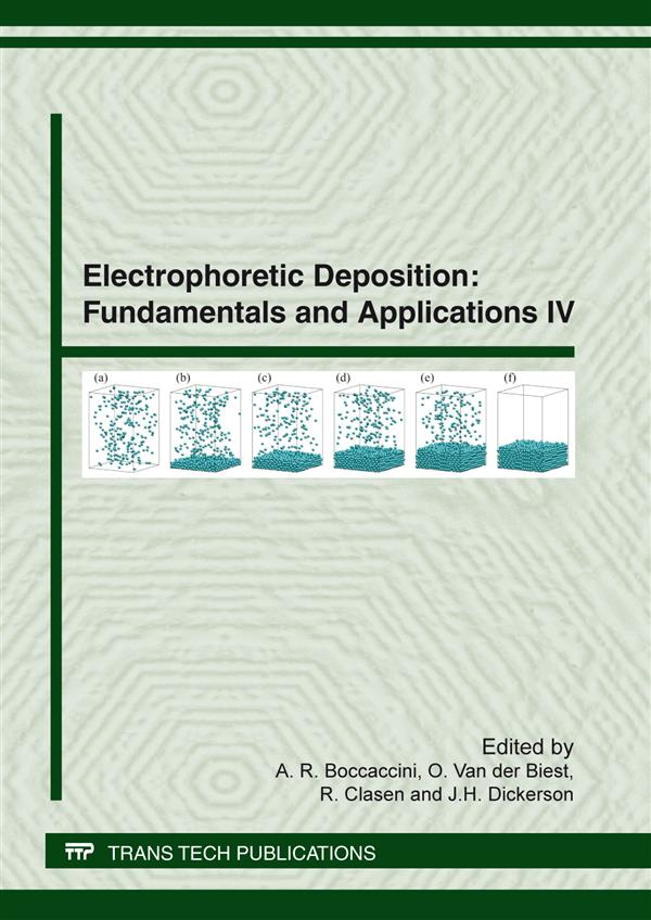 Electrophoretic Deposition: Fundamentals and Applications IV