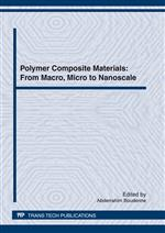 Polymer Composite Materials: From Macro, Micro to Nanoscale