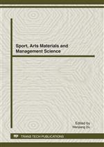 Sport, Arts Materials and Management Science
