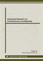 Advanced Research on Architectonics and Materials