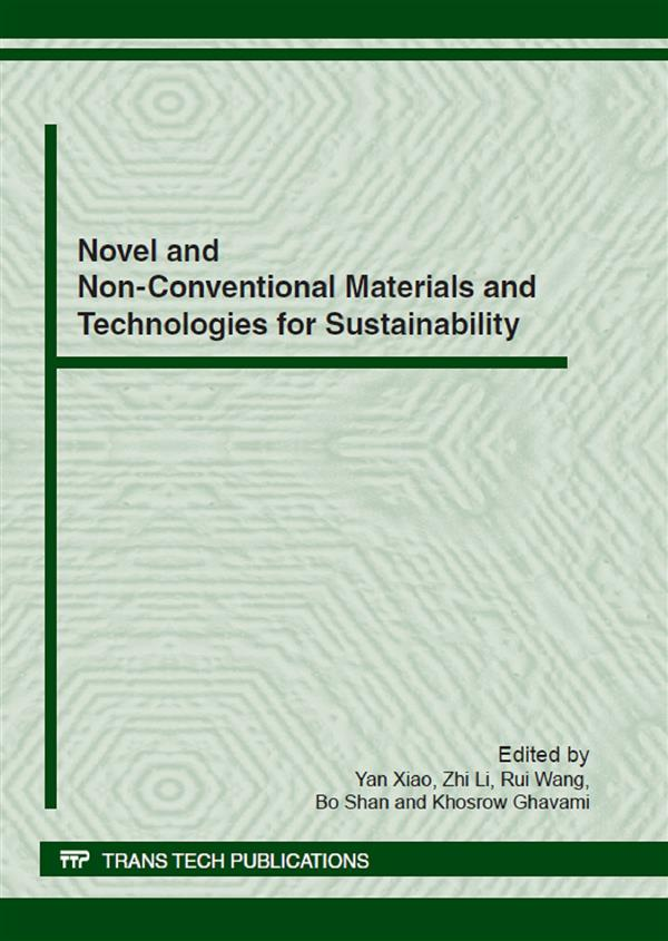 Novel and Non-Conventional Materials and Technologies for Sustainability