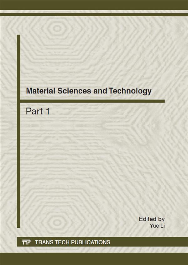 Material Sciences and Technology