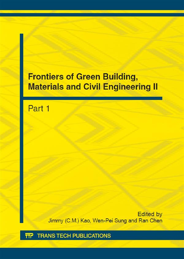 Frontiers of Green Building, Materials and Civil Engineering II