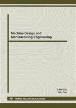 Machine Design and Manufacturing Engineering