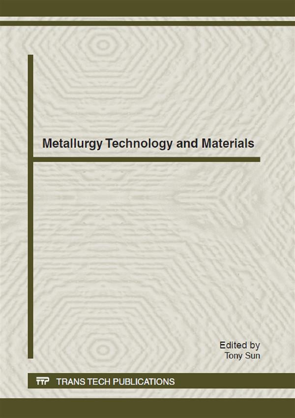 Metallurgy Technology and Materials