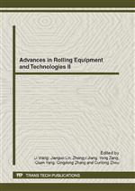Advances in Rolling Equipment and Technologies II