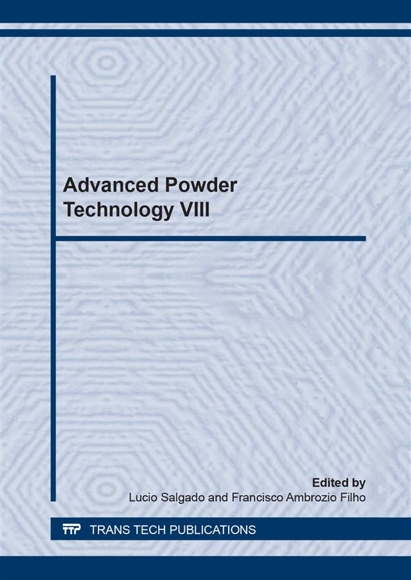 Advanced Powder Technology VIII