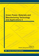 Green Power, Materials and Manufacturing Technology and Applications II