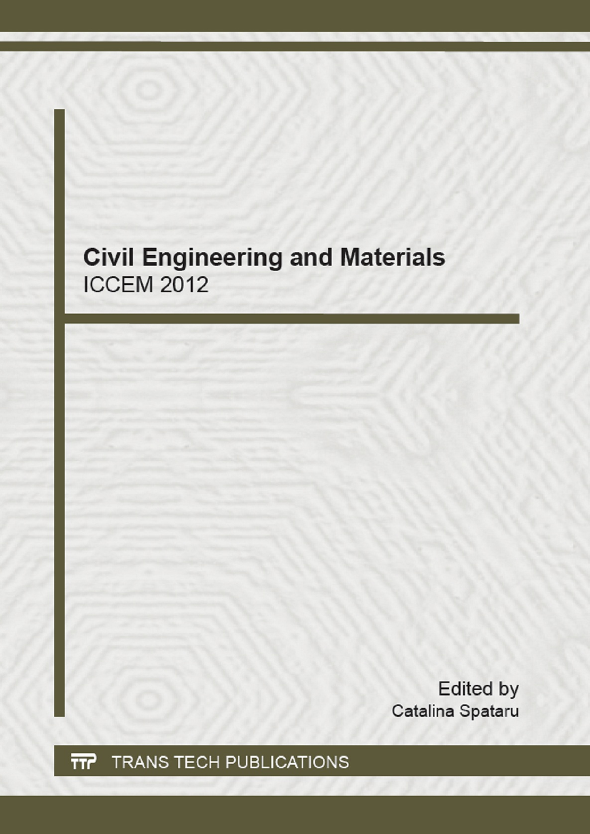 Civil Engineering and Materials