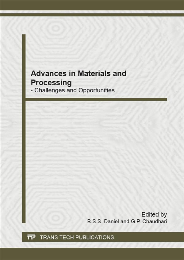 Advances in Materials and Processing