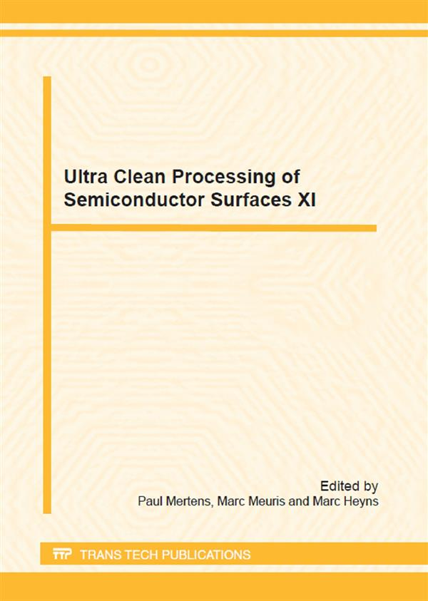 Ultra Clean Processing of Semiconductor Surfaces XI