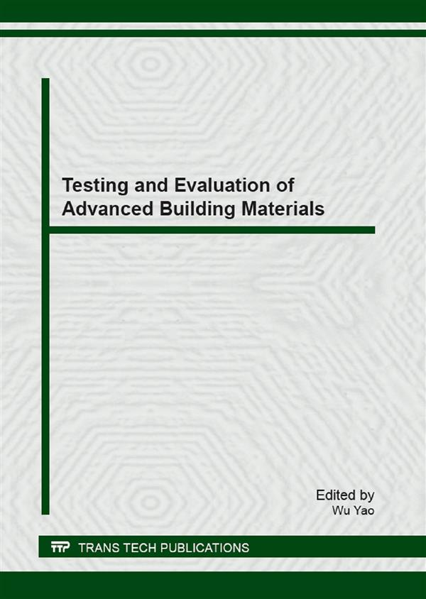Testing and Evaluation of Advanced Building Materials