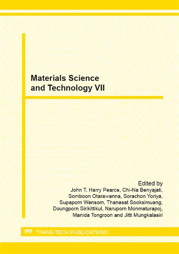 Materials Science and Technology VII