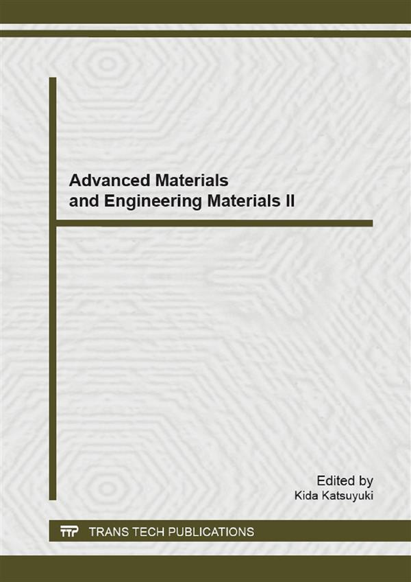 Advanced Materials and Engineering Materials II