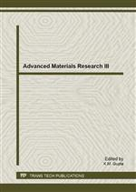Advanced Materials Research III