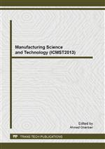 Manufacturing Science and Technology (ICMST2013)