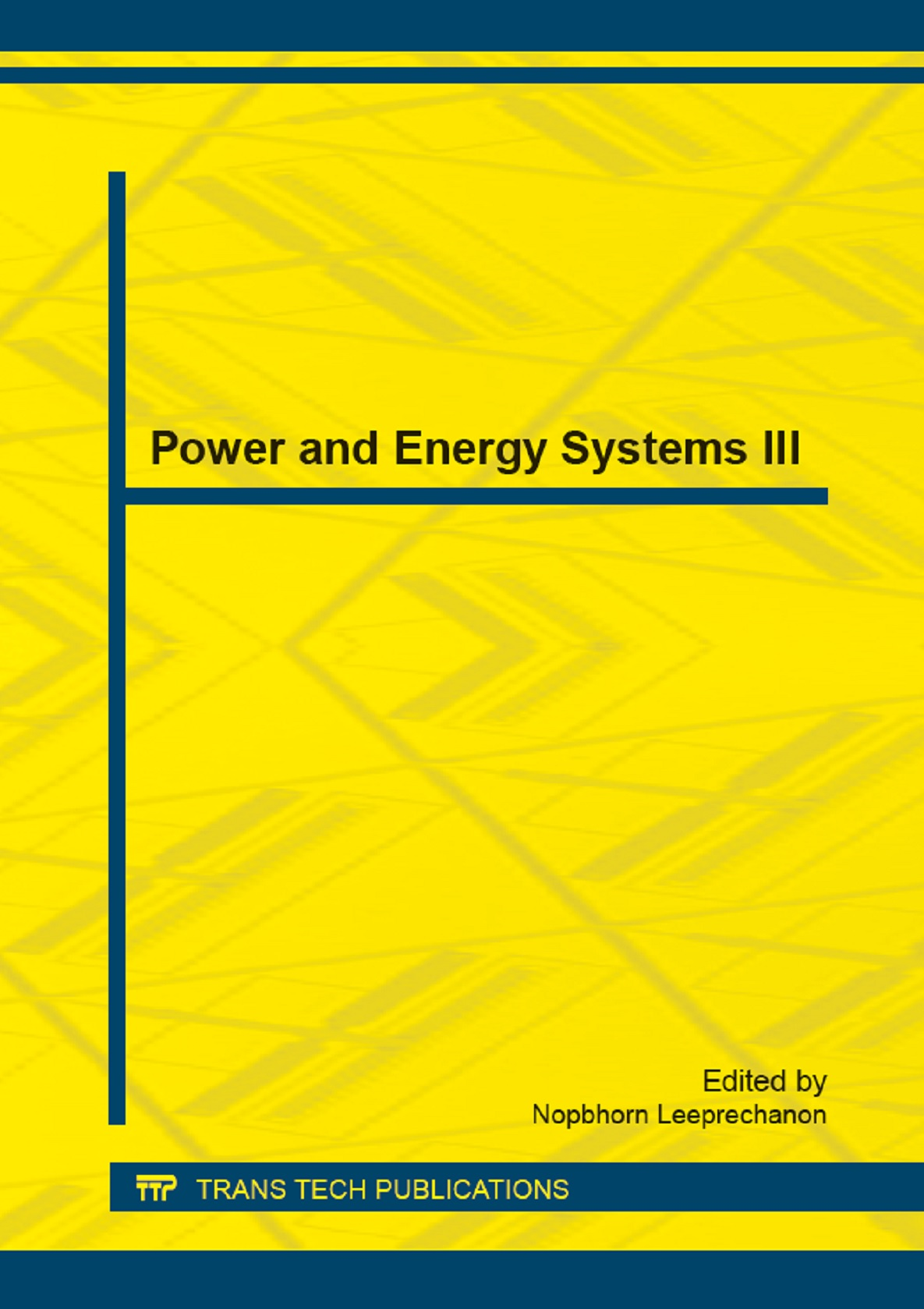 Power and Energy Systems III