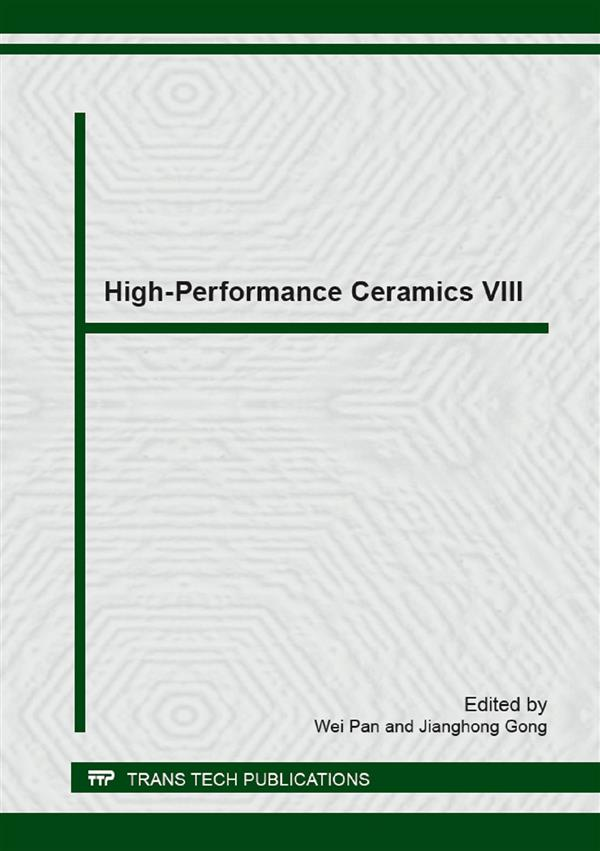 High-Performance Ceramics VIII