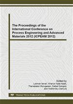 The Proceedings of the International Conference on Process Engineering and Advanced Materials 2012 (ICPEAM 2012)
