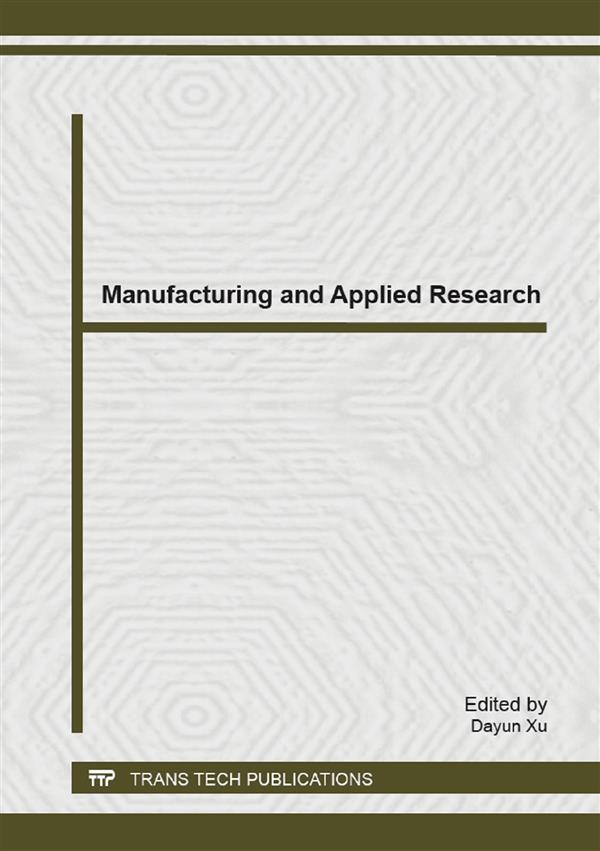Manufacturing and Applied Research