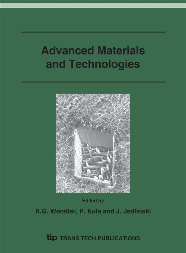 Advanced Materials and Technologies