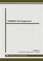 THERMEC 2013 Supplement