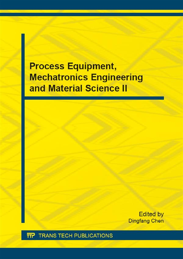 Process Equipment, Mechatronics Engineering and Material Science II