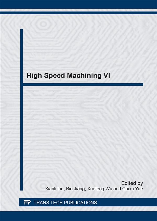 High Speed Machining VI