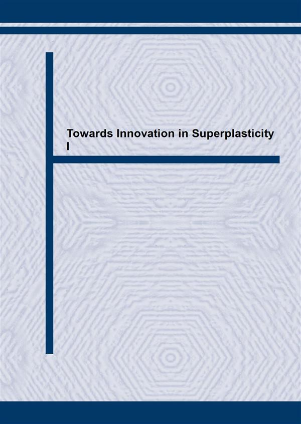 Towards Innovation in Superplasticity I