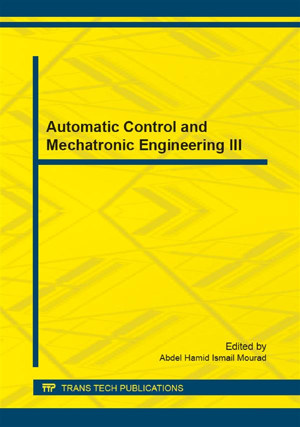 Automatic Control and Mechatronic Engineering III