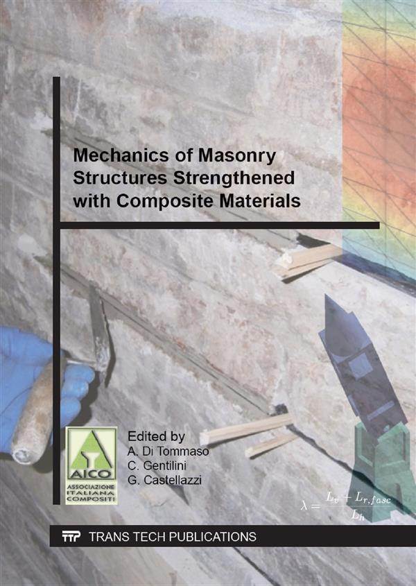Mechanics of Masonry Structures Strengthened with Composite Materials