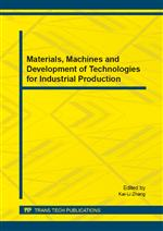Materials, Machines and Development of Technologies for Industrial Production