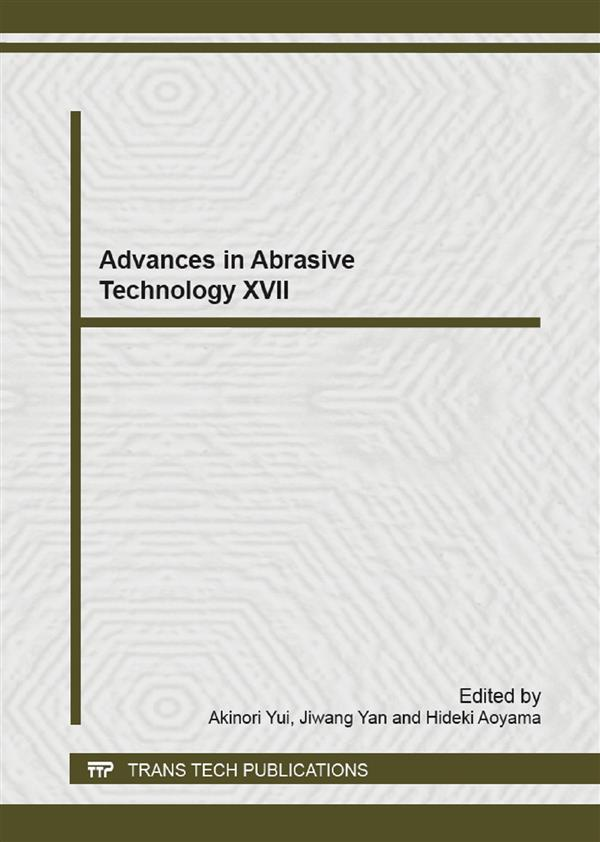 Advances in Abrasive Technology XVII