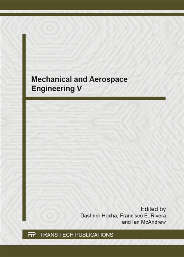 Mechanical and Aerospace Engineering V