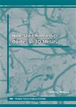 Non-Stoichiometric Oxides of 3d-Metals