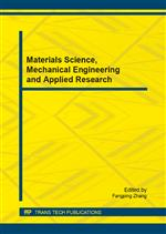 Materials Science, Mechanical Engineering and Applied Research