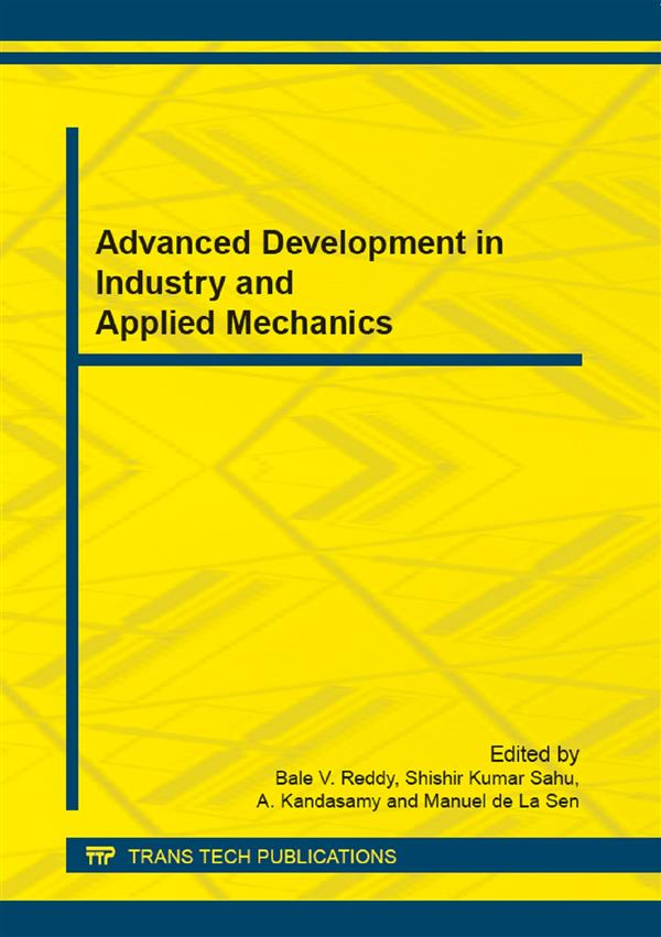 Advanced Development in Industry and Applied Mechanics