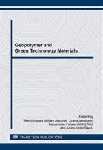 Geopolymer and Green Technology Materials
