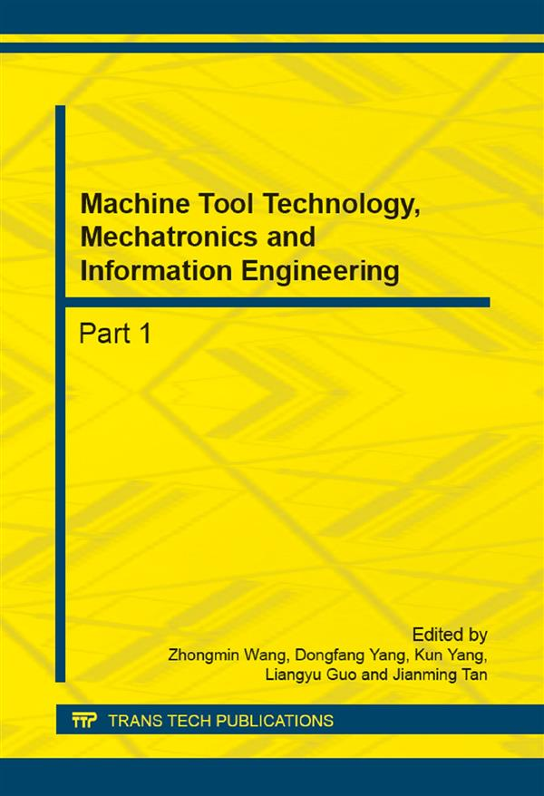 Machine Tool Technology, Mechatronics and Information Engineering