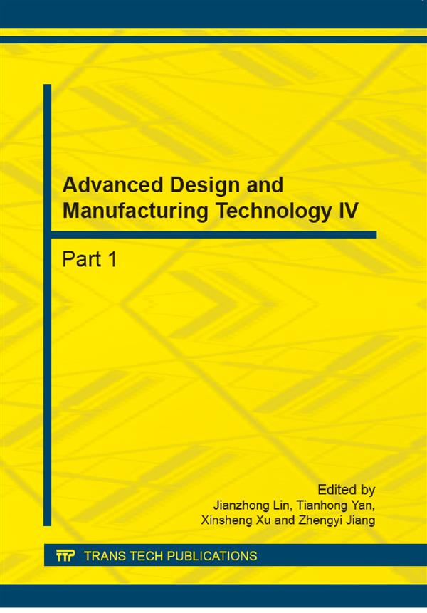 Advanced Design and Manufacturing Technology IV