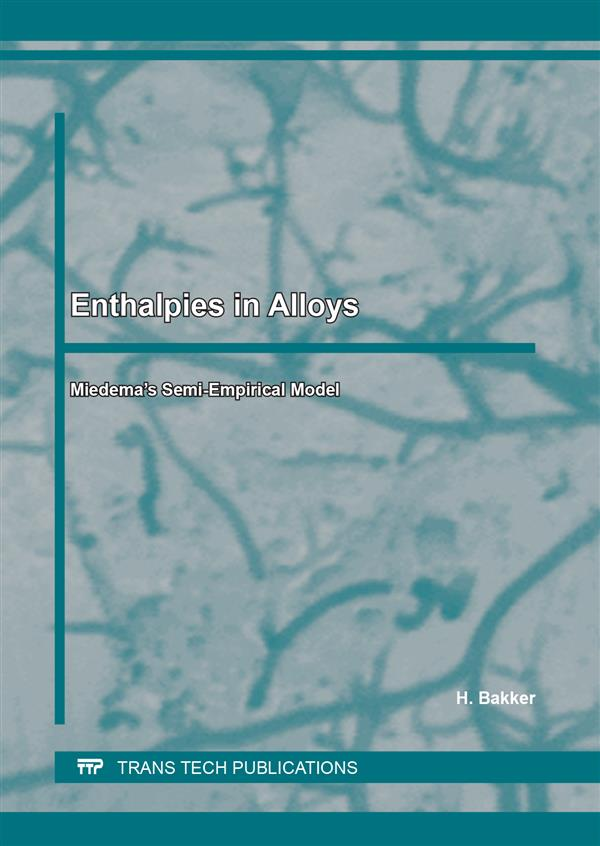 Enthalpies in Alloys