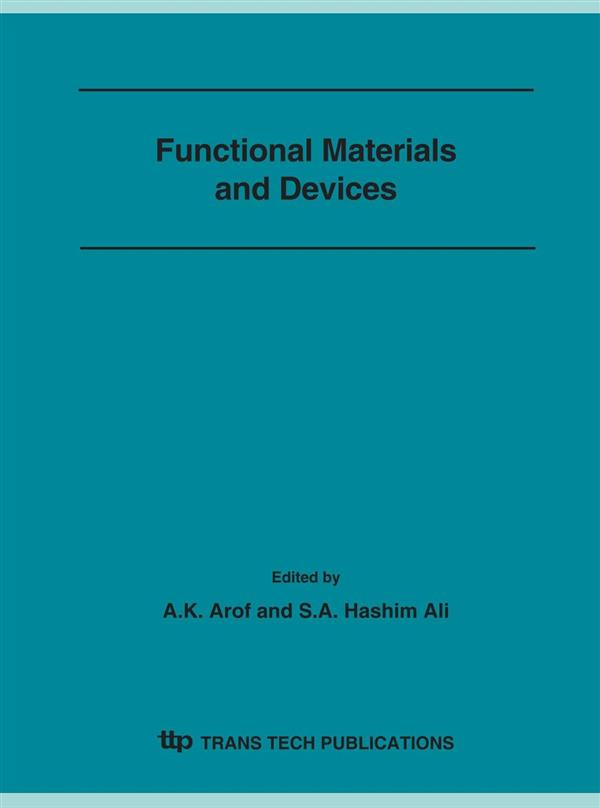 Functional Materials and Devices